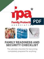 FPA Family Readiness Checklist V8