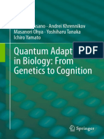 Asano, M., Andrei_Khrennikov, A., Ohya, M. (2015) Quantum Adaptivity in Biology; From Genetics to Cognition