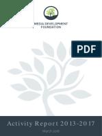 MDF Activity Report