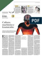 Cultura, Machismo y Feminicidio