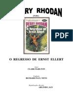Perry Rhodan 091 - O Regresso de Ernst Ellert - Clark Darlton