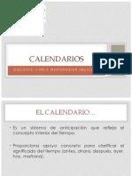 1. Calendarios