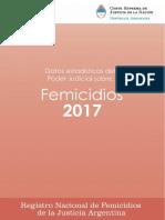 Femicidios 2017 Informe Final 3 de Junio Final Ok