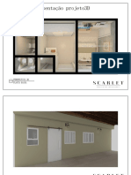 Apresentação 3D - Projeto interiores