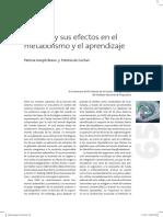 5. Estres y Sus Efectos en El Metabolismo y Aprendizaje 2007