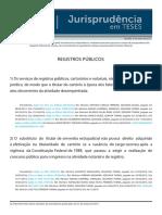 Jurisprudência Em Teses 80 - Registros Públicos