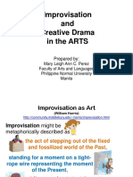 8Improvisation and Creative Drama