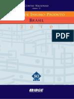 2010 Matriz Insumo Produto Brasil
