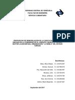 LEVANTAMIENTO DE CASETA DE VIGILANCIA