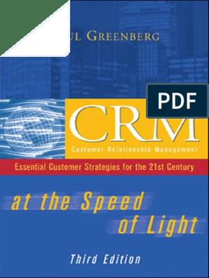 Paul Greenberg-CRM at the Speed of Light-McGraw-Hill Osborne