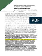 Catequistas JUAN PABLO II