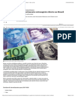 Qual o Quadro Do Investimento Estrangeiro Direto No Brasil - Nexo Jornal