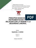 Prinicpios Basicos de Instrumentacion