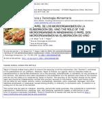 Mesas y Alegre (Papel de Los Microorganismos en La Elaboración Del Vino)
