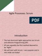 Agile Processes-Scrum