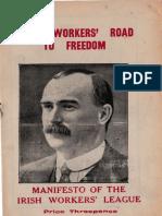 Irish Workers Road to Freedom