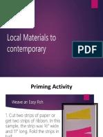 CPAR Local Materials