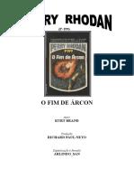 P-199 - O Fim de Árcon - Kurt Brand