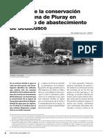 El Valor de La Conservacion de La Laguna de Piuray en El Servicio de Abastecimiento de Sedacusco - m. Carbajal i. Lucich - Unmsm