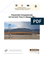04027 HB34191 Passerella Ciclopedonale Alpago
