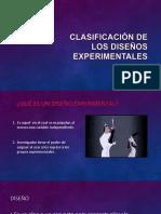 Clasificación de Los Diseños Experimentales Para Convertido
