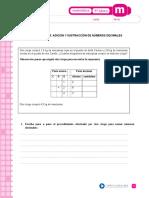 adicion y sustracion decimales.doc