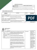 Planificación Unidad I, Séptimo Basico 2018