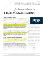 richard ruvalcaba - the successful persons guide to time management