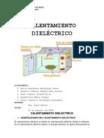CALENTAMIENTO DIELÉCTRICO