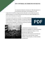 La Declaración Universal de Derechos Humanos Luz y Car