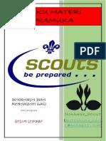 Buku Materi Pramuka