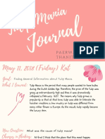 journal - tulip mania 1