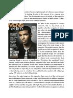 media magazine textual analysis 2