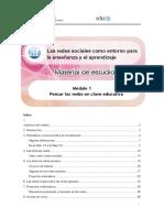 Modulo1 --Ya--redes Sociales en Clave Educativa(Pensar Las Redes en Clave Educativa