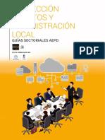 Guia Proteccion Datos Administracion Local