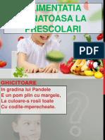 Alimentatia Sanatoasa La Prescolari