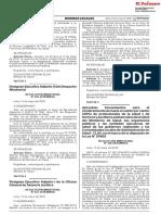 Aprueban Lineamientos Para El Nombramiento de Hasta El Veint Resolucion Ministerial n 428 2018minsa 1647864 1