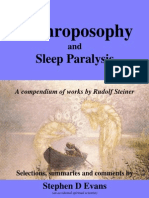 Anthroposophy and Sleep Paralysis