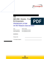 MD050 - XX INV Relatório Geral de Itens - V1.0