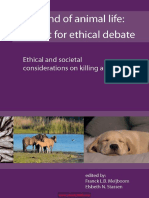 The End of Animal Life a Start for Ethical Debate Ethical and Societal Considerations on Killing Animals