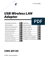 UWABR100 Manual