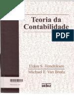 332095530 Teoria Da Contabilidade Hendriksen Eldon S Van Breda Michael F 1a Ed Sao Paulo Atlas 2010