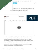 Video Curso Gratuito de Trading de Bitcoin y Criptomonedas en Bittrex.