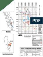 Mapa de Peru y Lucre