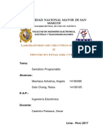 Proyecto Final (Ing. Casimiro)