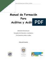 Manual Formacion Acolitos Para Asesores Zona Maipo