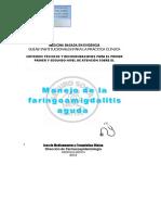 Guía Faringoamigdalitis(1)
