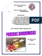 Test Bioquimico - Bacterias