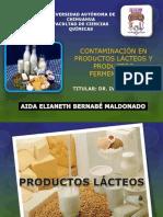 Contaminación en La Leche, Productos Lácteos y