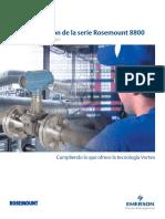 Instrumentación de La Serie Rosemount 8800